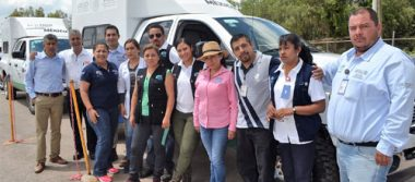 Envía SSG personal médico a Morelos