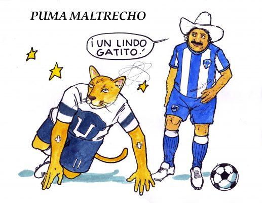 Hoy en el cartón de Salazar   PUMA MALTRECHO
