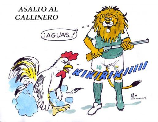 Hoy en el cartón de Salazar | ASALTO AL GALLINERO
