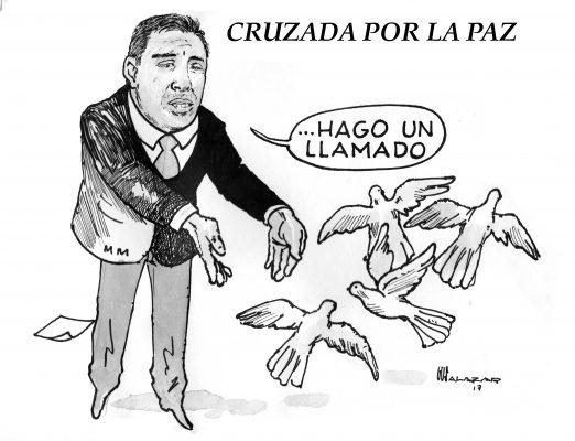 Hoy en el cartón de Salazar / CRUZADA POR LA PAZ