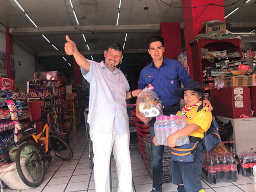 Invitan a solidarizarse con damnificados de terremoto