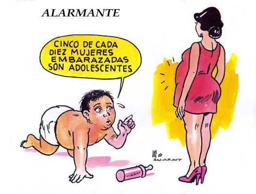 Hoy en el cartón de Salazar / ALARMANTE