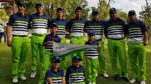 RIAMA Salamanca en Gira Infantil y Juvenil 2017 de Golf, y Liga Universitaria