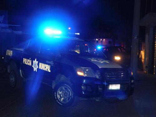 Frustran robo de bancas y detienen a dos presuntos ladrones