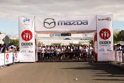 Anuncia Mazda tercera edición de la carrera de relevos EKIDEN 2017