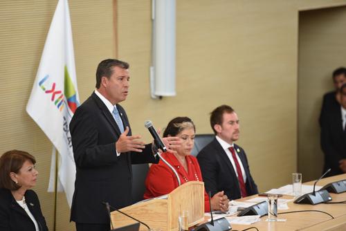 Unidad y diálogo, pide gobernador