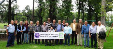 Colectivo de Antiguos Scouts de Salamanca realizan la sesión del mes