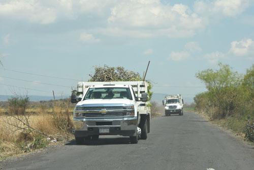 Paciencia, piden a lugareños del camino al relleno sanitario