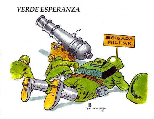 Hoy en el cartón de Salazar / VERDE ESPERANZA