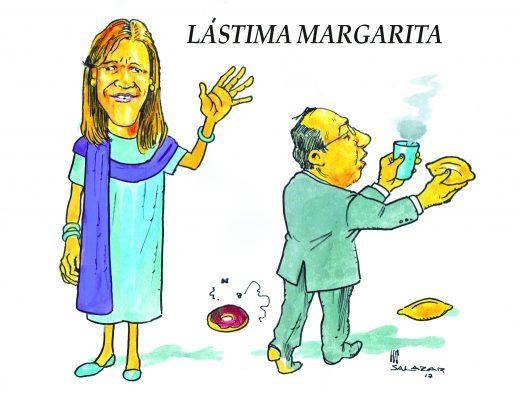 Hoy en el cartón de Salazar / LÁSTIMA MARGARITA
