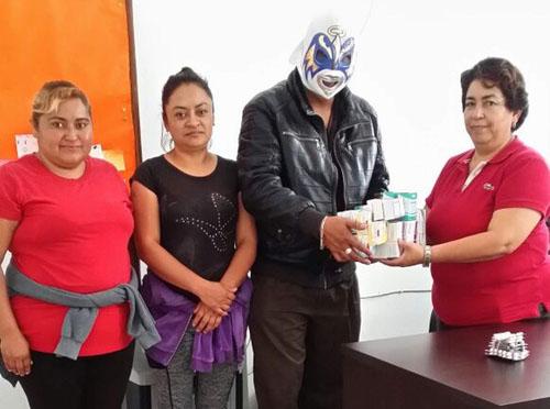 En pie proyecto Luchemos por niños con Ángel Guardián