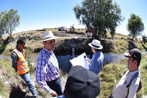 Supervisa alcalde obras de drenaje en el Polo 10