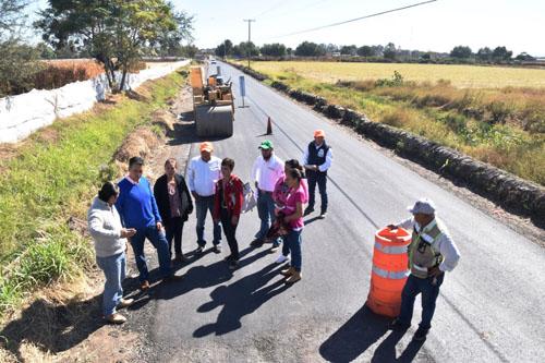 Supervisa alcalde obras en comunidades rurales