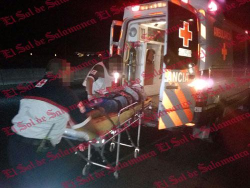 Motociclista atropellado y baleado