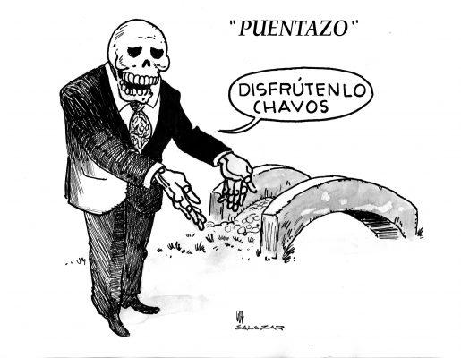 Hoy en el cartón de Salazar / PUENTAZO