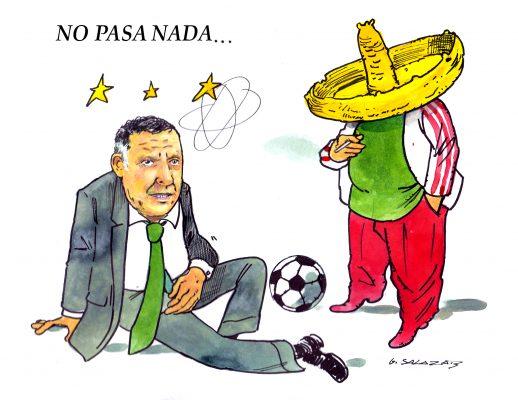 Hoy en el cartón de Salazar / NO PASA NADA