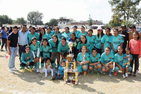 Dep. Guanajuato nuevo campeón en Liga Salmantina de Futbol Femenil
