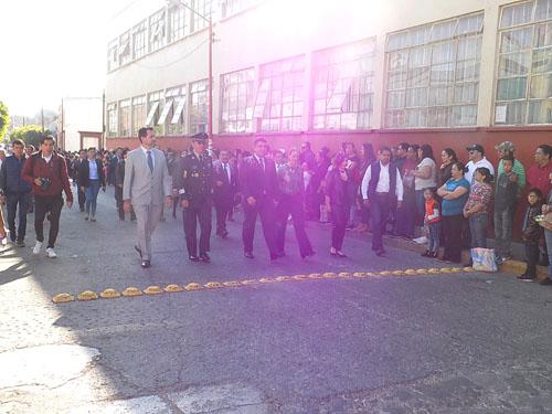 Celebran CVII aniversario del inicio de la Revolución Mexicana