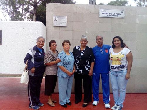 Ángela Chavira primera atleta en ser incorporada al Muro de la Fama