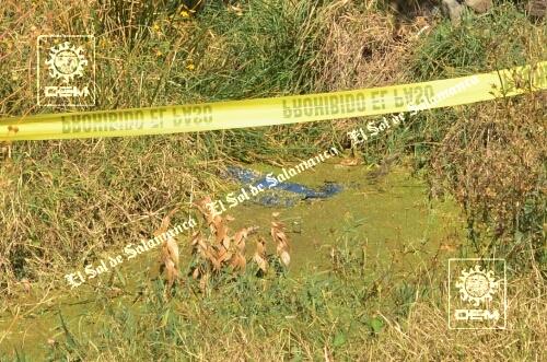 Encuentran cadáver en canal de riego