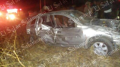 Tres personas lesionadas fue el saldo de un choque