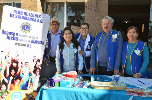 Feria de Salud en Club de Leones