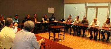 Se reúnen dependencias municipales, transportistas y Mando Único para atender inquietudes