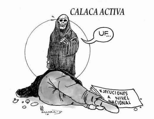 Hoy en el cartón de Salazar | CALACA ACTIVA