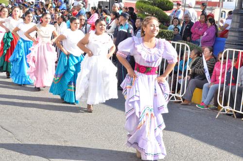 Este Lunes el desfile del Aniversario de la Revolución Mexicana