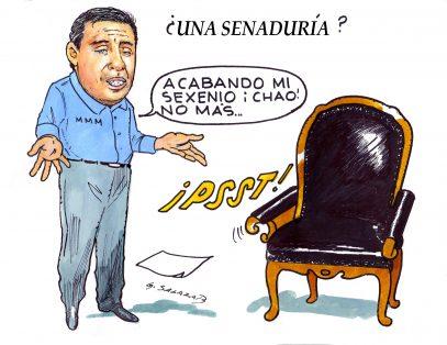 Hoy en el cartón de Salazar / ¿UNA SENADURIA?
