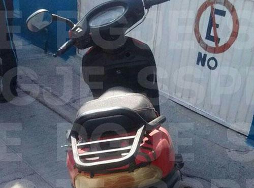 Recuperan motocicleta con reporte de robo en la Guanajuato