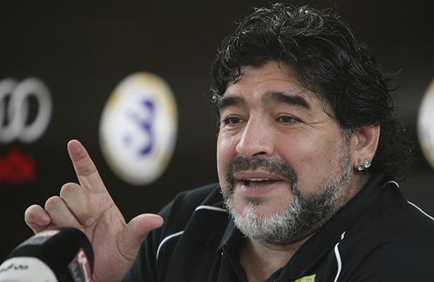Maradona manda mensaje de apoyo a México tras sismo