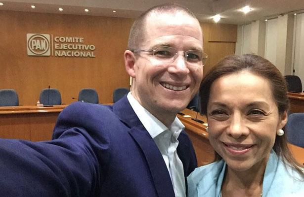 Vázquez Mota irá con el PAN por el Edomex