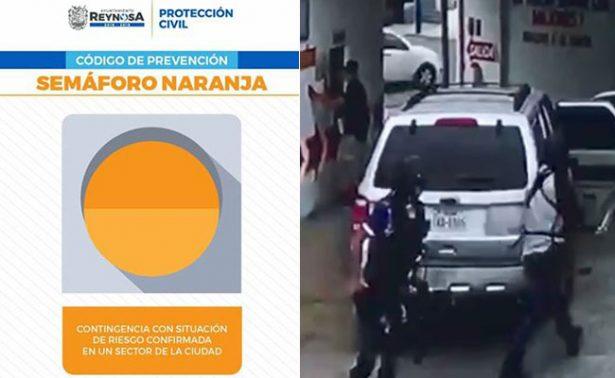 Continúa ola de violencia en Reynosa: activan semáforo naranja