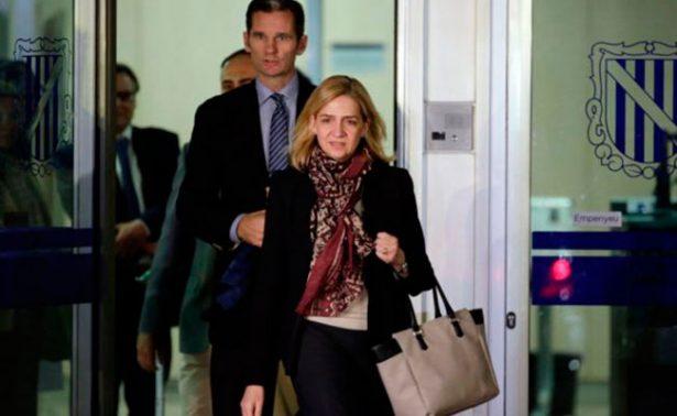 Tribunal español absuelve a la infanta Cristina del delito de fraude fiscal