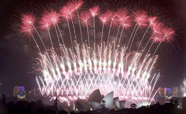 ¡Adiós 2016! Así le da el mundo la bienvenida al 2017