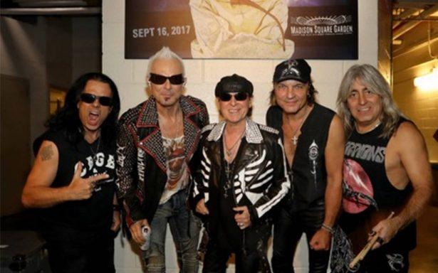 Scorpions lanzará disco con sus mejores baladas de rock