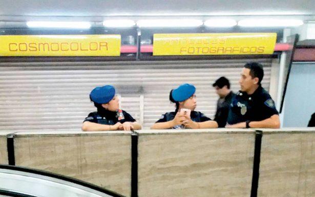Aún con más policías aumentan crímenes en el Metro