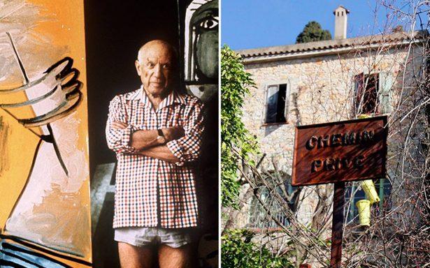 Subastan por 20 millones de euros casa donde murió Picasso