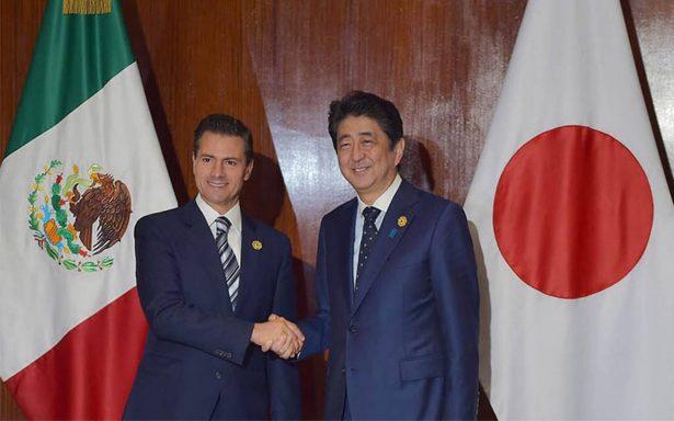 México y Japón deben ampliar más su relación comercial: Peña Nieto