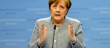 """Merkel dice tener una """"buena relación"""" con Trump a pesar de un frío inicio"""