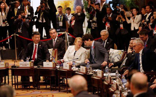 Revive TPP: acuerdan puntos centrales de pacto sin EU