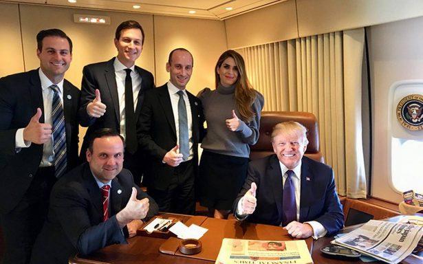 Recibe Trump amargo regalo de aniversario
