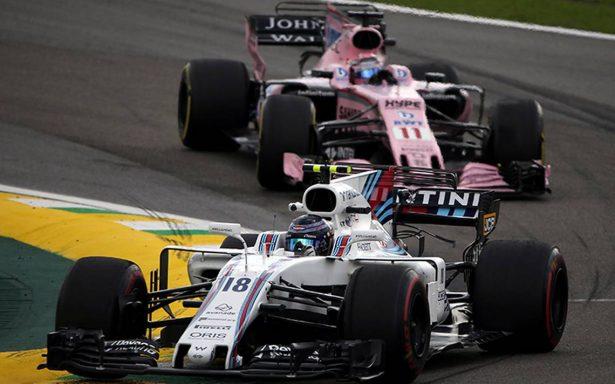 Checo saldrá en quinto sitio en el Gran Premio de Brasil