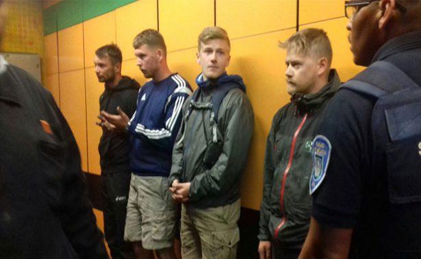 Definirán el lunes situación de europeos que grafitearon tren del Metro