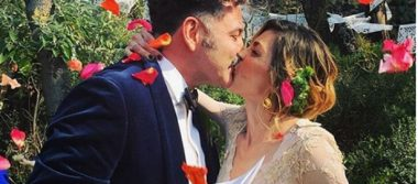 Se casaron Irene Azuela y Quique, de Café Tacvba
