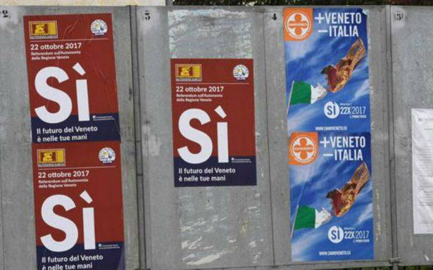Veneto y Lombardía van este domingo a referéndum por mayor autonomía