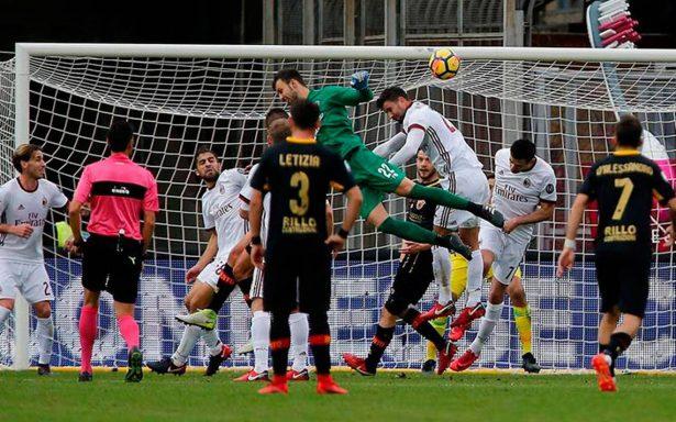 [Video] Con gol de su portero, Benevento logra su primer punto en la historia de la Liga italiana