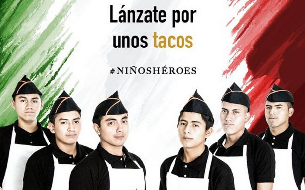 """""""Lánzate por unos tacos"""": la polémica campaña que se volvió viral en redes"""