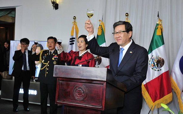 Corea manifiesta solidaridad con México